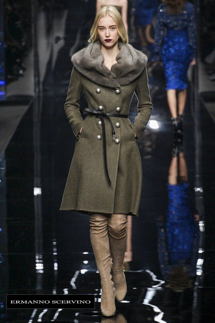Redhead Illusion - Fashion Blog by Menia - Fashion Show - Ermanno Scervino - Fall-winter 2015-07