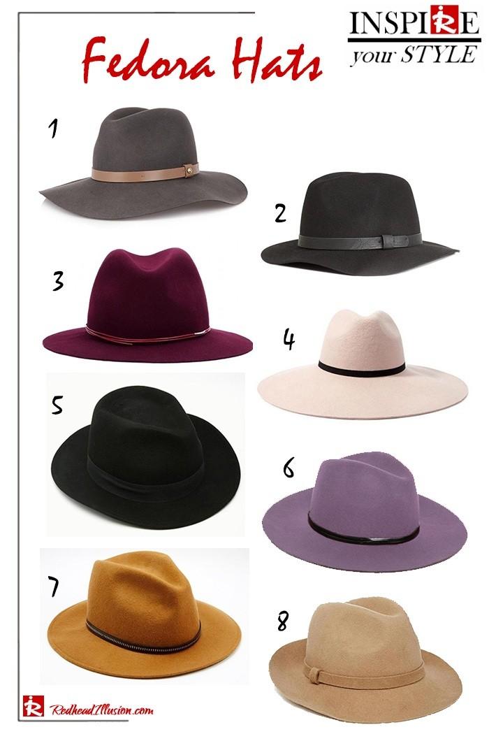 Εμπνευστείτε το στυλ σας – Καπέλα Fedora!