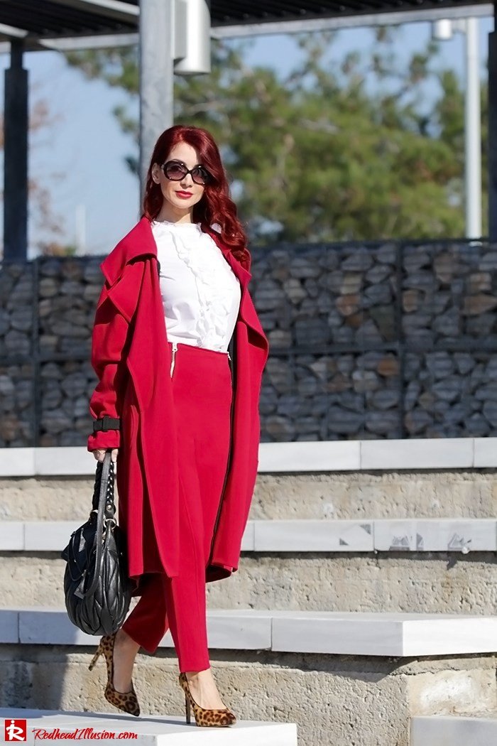 Redhead Illusion - Fashion Blog by Menia - Red of course - Access Red Ensemble - Miu-Miu-bag-03