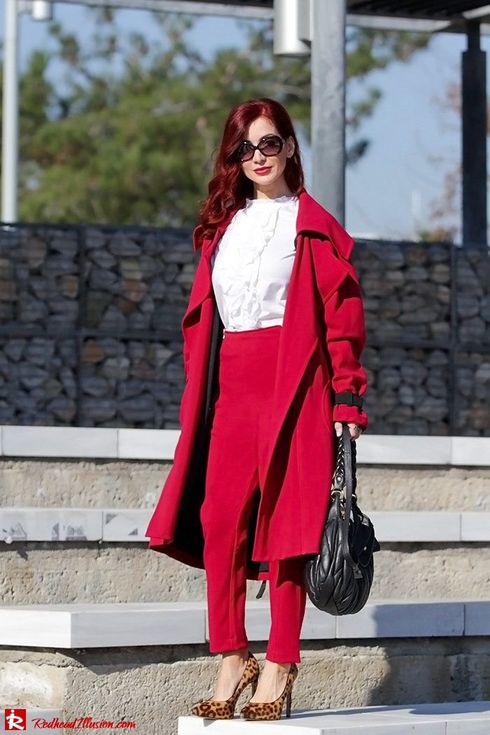 Redhead Illusion - Fashion Blog by Menia - Red of course - Access Red Ensemble - Miu-Miu-bag-09