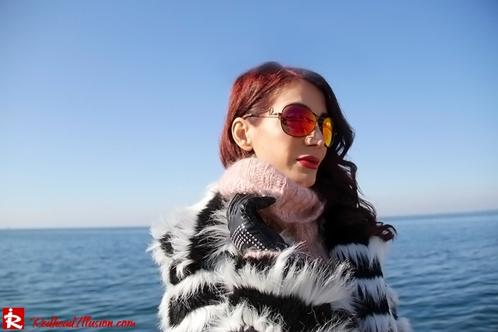 Redhead Illusion - Fashion Blog by Menia - Walk along the waterfront - ( OTK ) Over the knee Boots-10