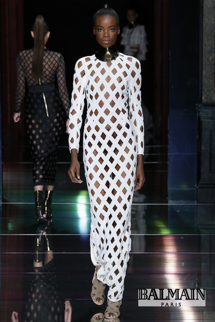 Redhead Illusion - Fashion Blog - Fashion Show Balmain - Spring-Summer-2016-05