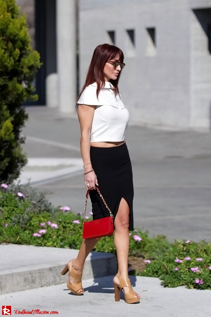 Redhead Illusion - Fashion Blog by Menia - Preppy but sexy too - Zara Pencil Skirt-03