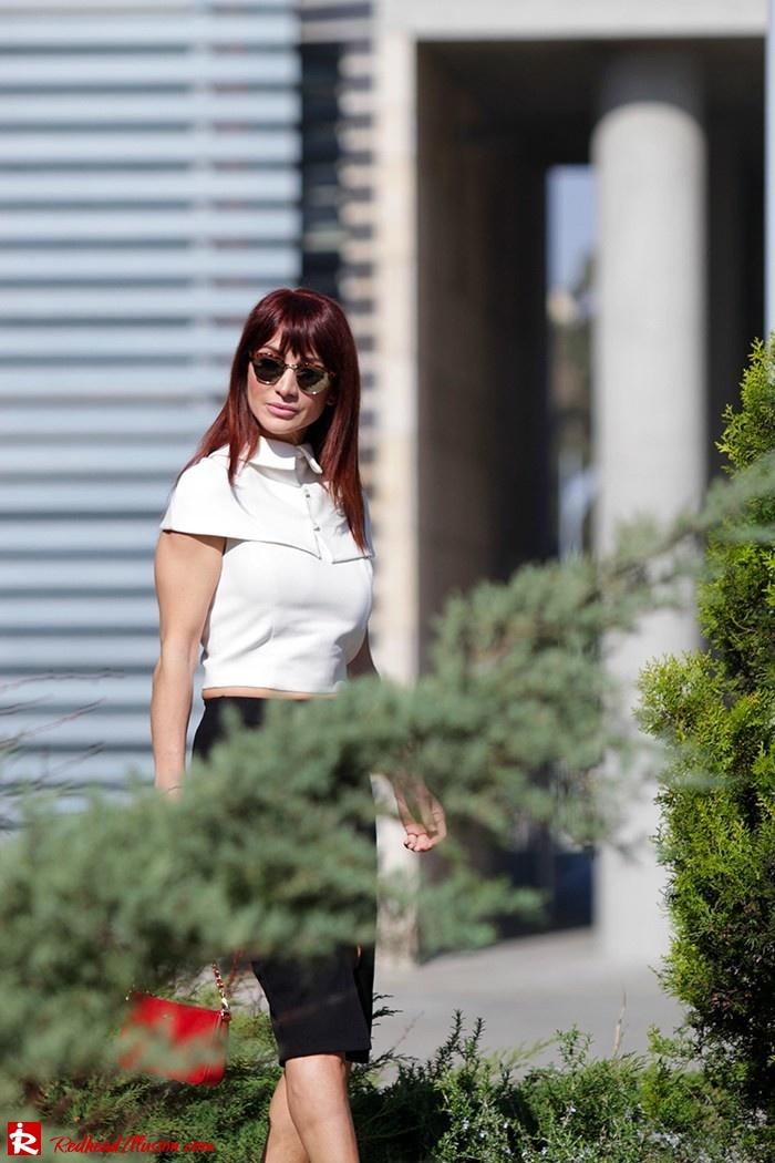 Redhead Illusion - Fashion Blog by Menia - Preppy but sexy too - Zara Pencil Skirt-04