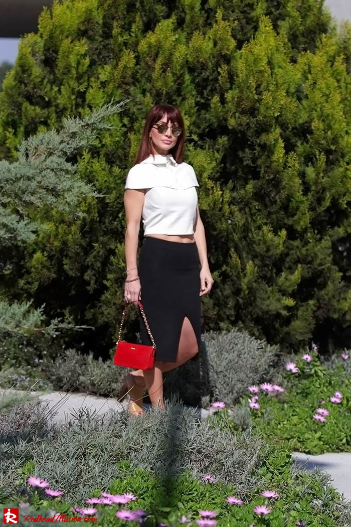 Redhead Illusion - Fashion Blog by Menia - Preppy but sexy too - Zara Pencil Skirt-06