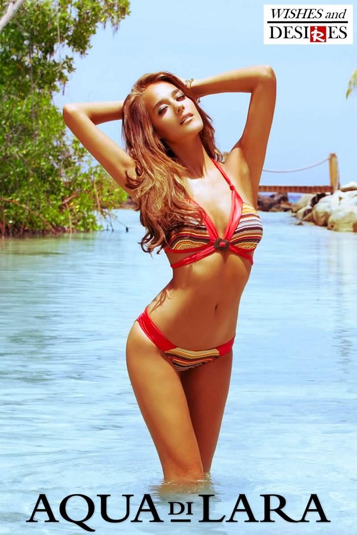 Redhead Illusion - Fashion Blog by Menia - Wishes and Desires - Swimwear - Aqua di Lara - SS-16-05