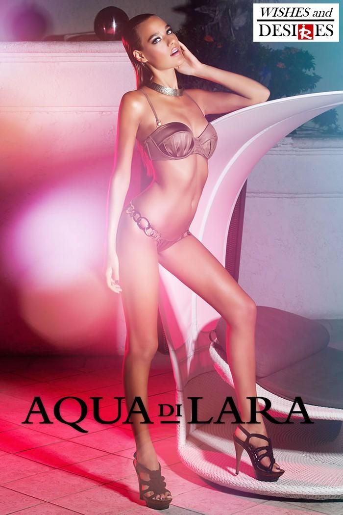 Redhead Illusion - Fashion Blog by Menia - Wishes and Desires - Swimwear - Aqua di Lara - SS-16-10