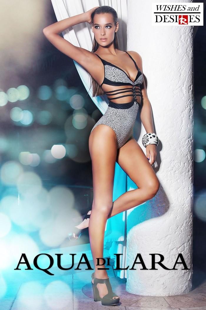 Redhead Illusion - Fashion Blog by Menia - Wishes and Desires - Swimwear - Aqua di Lara - SS-16-13