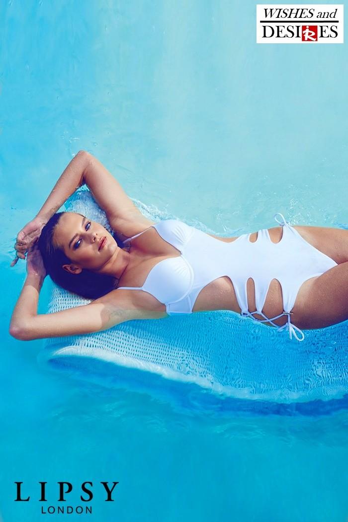 Redhead Illusion - Fashion Blog by Menia - Wishes and Desires - Swimwear - Lipsy - SS16-04