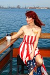 Redhead Illusion - Fashion Blog by Menia - Next exit: American Dream - Denny Rose Dress - H&M Clogs-01