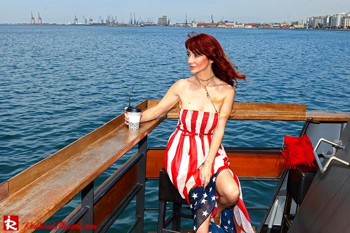 Redhead Illusion - Fashion Blog by Menia - Next exit: American Dream - Denny Rose Dress - H&M Clogs-02