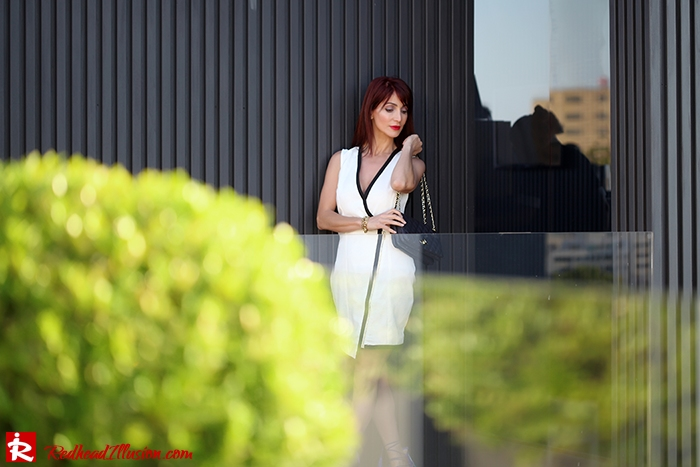 Redhead Illusion - Fashion Blog by Menia -Beside a Pool - Missguided Dress - Jessica Simpson Heels-05