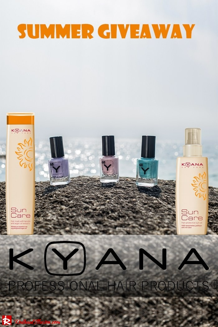Giveaway - Kyana - Nail Polish and Sun Care!
