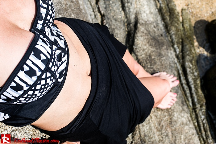Redhead Illusion - Fashion Blog by Menia - On the rocks - Peter Pilotto - Bikini Top-09