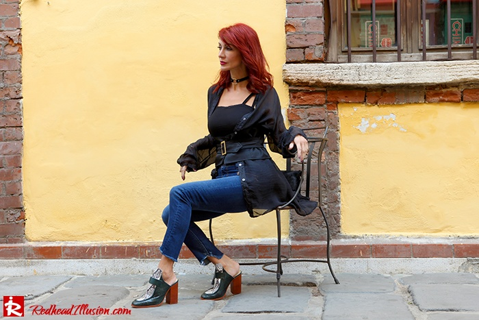 Redhead Illusion - Fashion Blog by Menia - Mind Travel Far Away - Zara Pants-10