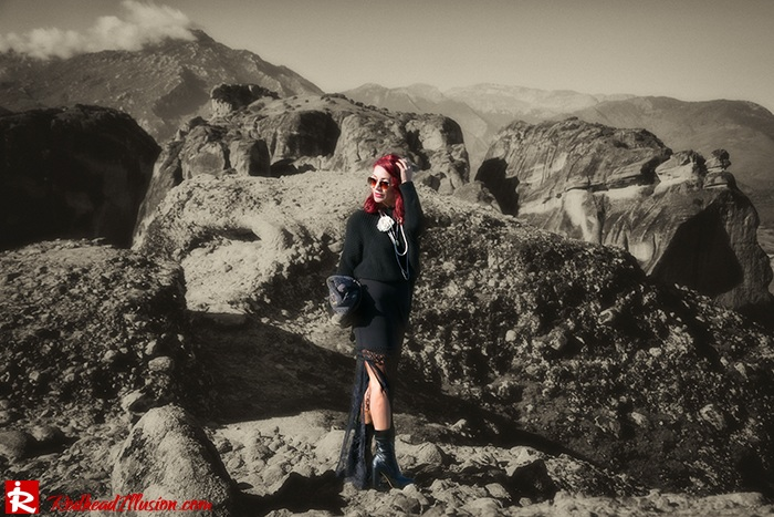 Redhead Illusion - Fashion Blog by Menia - Everything in harmony - Access Skirt-07