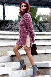Redhead Illusion - Fashion Blog by Menia - Pink Affair - Knitted Sweater- Shein Skirt - Zara Booties-00