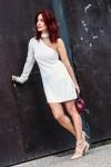 Redhead Illusion - Fashion Blog by Menia - Mini Winter White - Missguided Dress-01