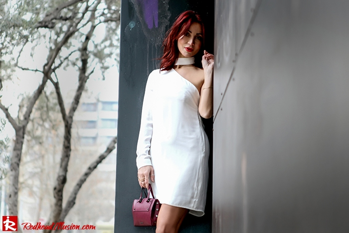 Redhead Illusion - Fashion Blog by Menia - Mini Winter White - Missguided Dress-06