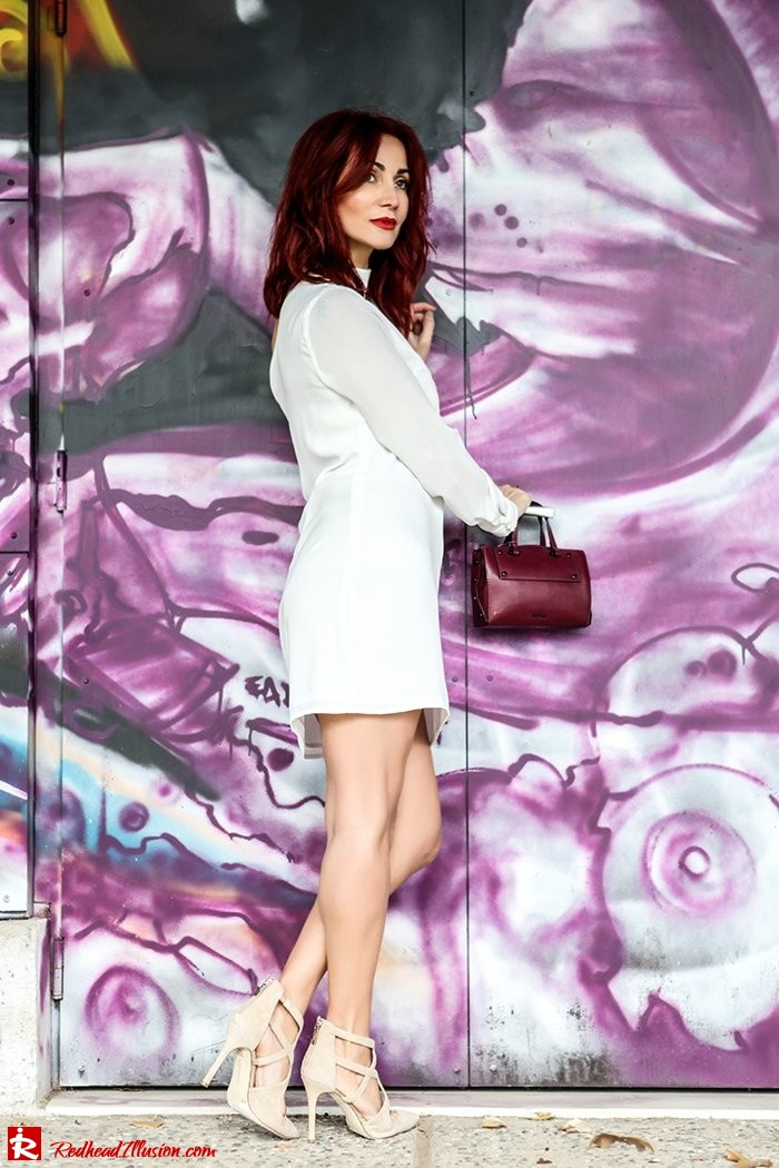 Redhead Illusion - Fashion Blog by Menia - Mini Winter White - Missguided Dress-07