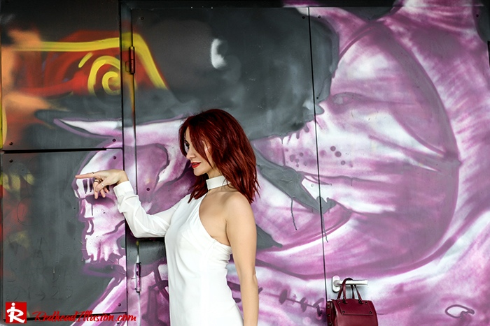 Redhead Illusion - Fashion Blog by Menia - Mini Winter White - Missguided Dress-08