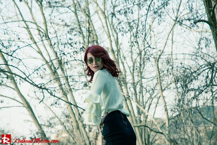 Redhead Illusion - Fashion Blog by Menia - Expressing - Shein Blouse - Jimmy Choo Bag-07