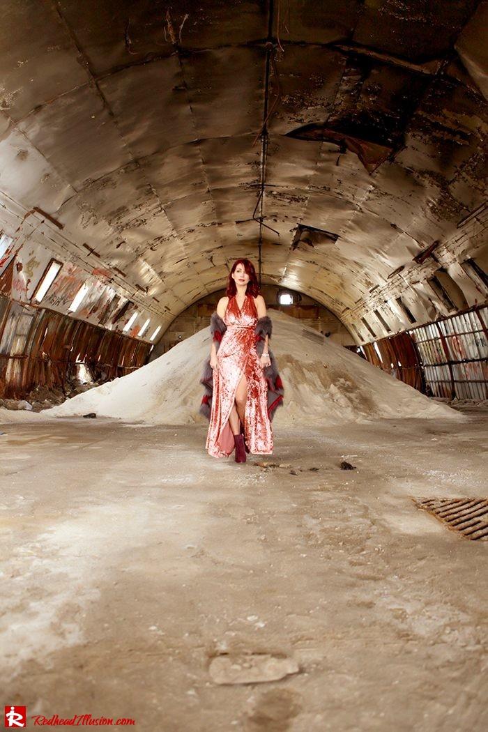Redhead Illusion - Fashion Blog by Menia - So old so new - Missguided Dress-05
