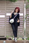 Redhead Illusion - Fashion Blog by Menia - Suiting - Lulus Jacket - Le Cose di Laura Accessories-01