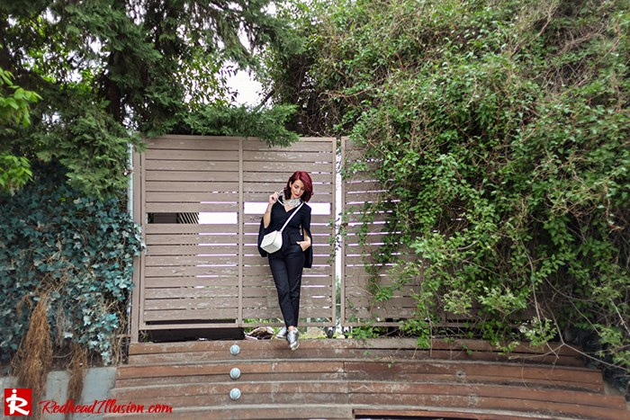 Redhead Illusion - Fashion Blog by Menia - Suiting - Lulus Jacket - Le Cose di Laura Accessories-02