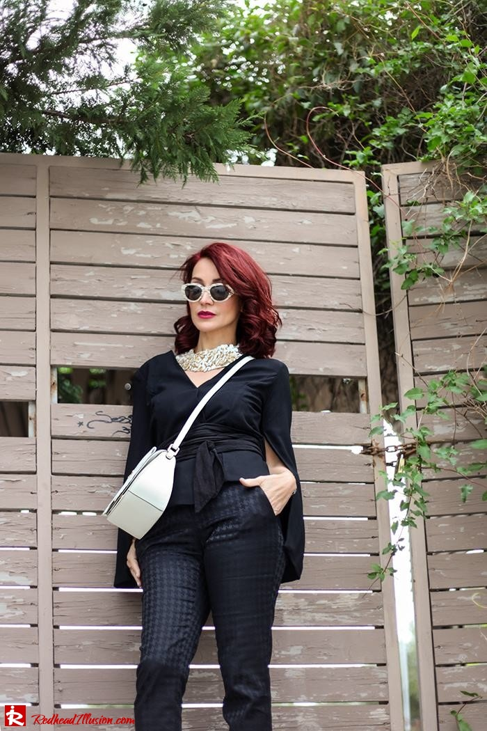 Redhead Illusion - Fashion Blog by Menia - Suiting - Lulus Jacket - Le Cose di Laura Accessories-06