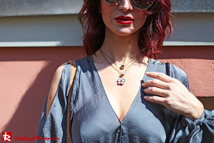 Redhead Illusion - Fashion Blog by Menia - A sense of relaxation - Lulus Maxi Dress-09