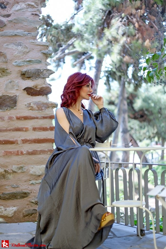 Redhead Illusion - Fashion Blog by Menia - A sense of relaxation - Lulus Maxi Dress-11