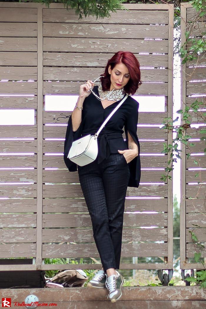 Redhead Illusion - Fashion Blog by Menia - Lately-04-Suiting - Lulus Jacket