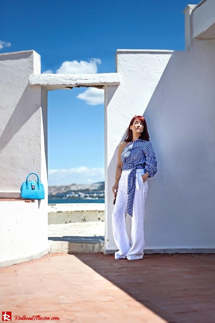 Redhead Illusion - Fashion Blog by Menia - Deconstruction - Shein Shirt-06