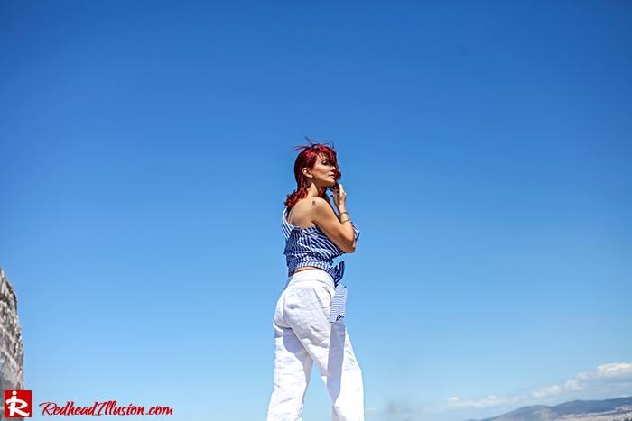Redhead Illusion - Fashion Blog by Menia - Deconstruction - Shein Shirt-08
