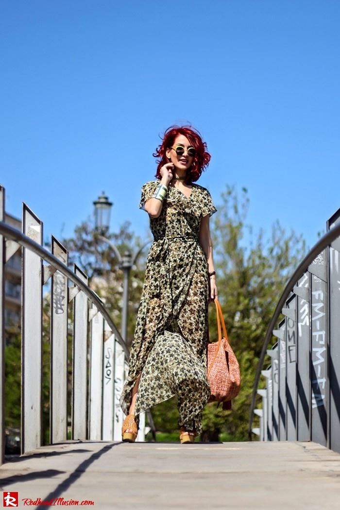 Redhead Illusion - Fashion Blog by Menia - One for all - Denny Rose Dress-02