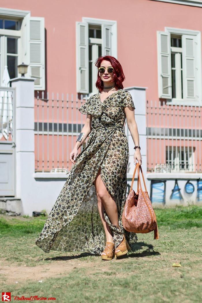 Redhead Illusion - Fashion Blog by Menia - One for all - Denny Rose Dress-05