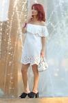 Redhead Illusion - Fashion Blog by Menia - Cool Splashes - Shein Dress - River Island Mules-01