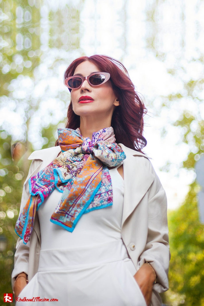 Redhead Illusion - Fashion Blog by Menia - Inspire your Style - Bet and Malfie - Silk Scarf-02