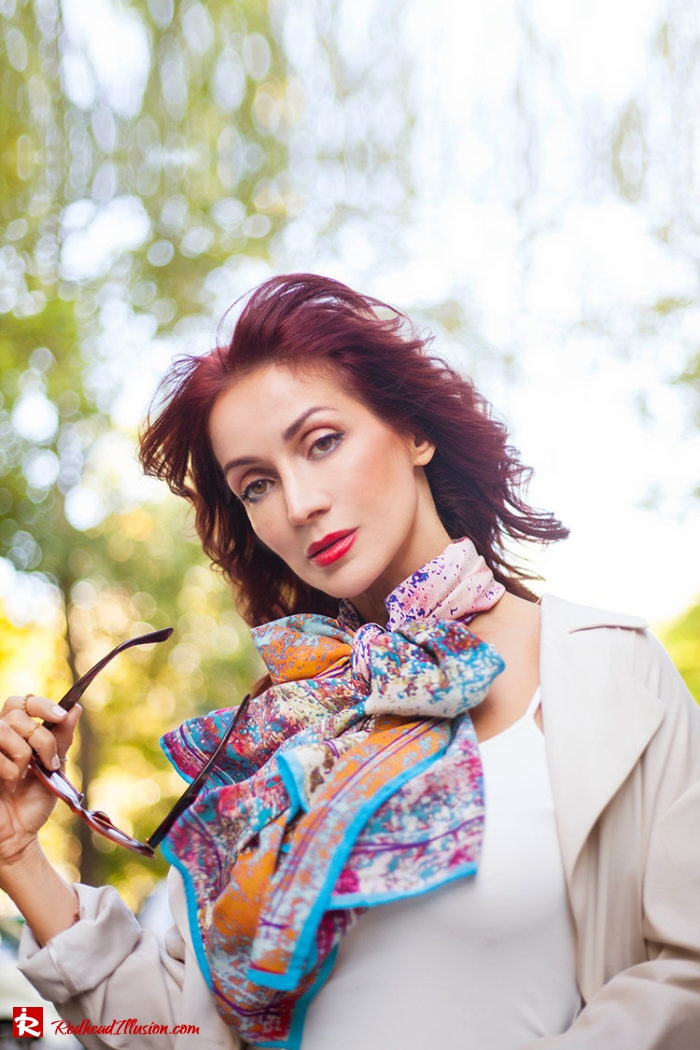 Redhead Illusion - Fashion Blog by Menia - Inspire your Style - Bet and Malfie - Silk Scarf-03