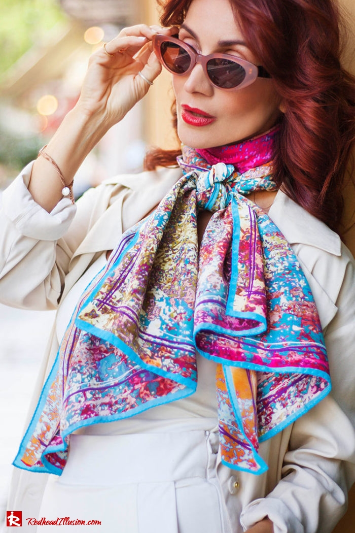Redhead Illusion - Fashion Blog by Menia - Inspire your Style - Bet and Malfie - Silk Scarf-05