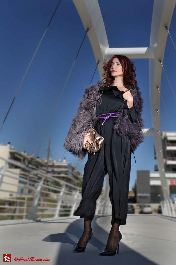 Redhead Illusion - Fashion Blog by Menia - Against the wind - Jumpsuit Asos-06