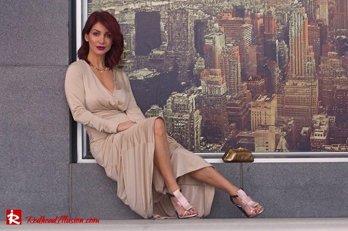 Redhead Illusion - Fashion Blog by Menia - Editorial - Mind Trap - Lulus Maxi Dress - Suzy Smith Clutch-04