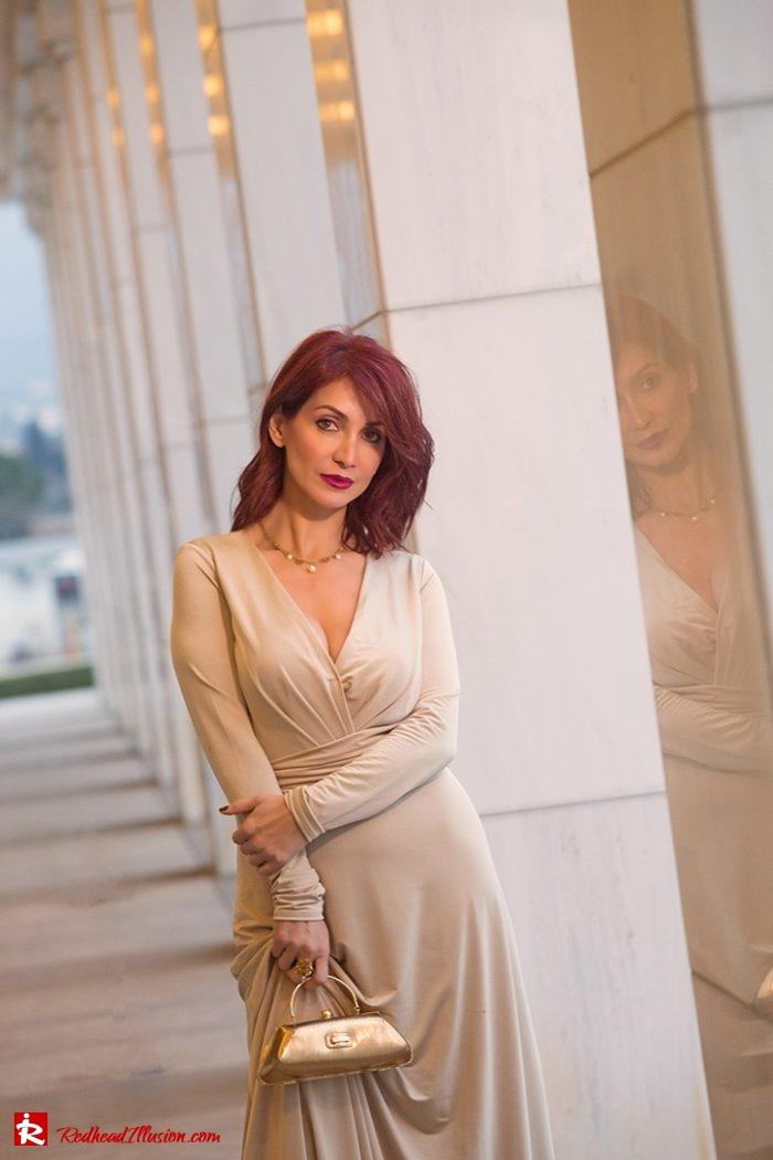 Redhead Illusion - Fashion Blog by Menia - Editorial - Mind Trap - Lulus Maxi Dress - Suzy Smith Clutch-05