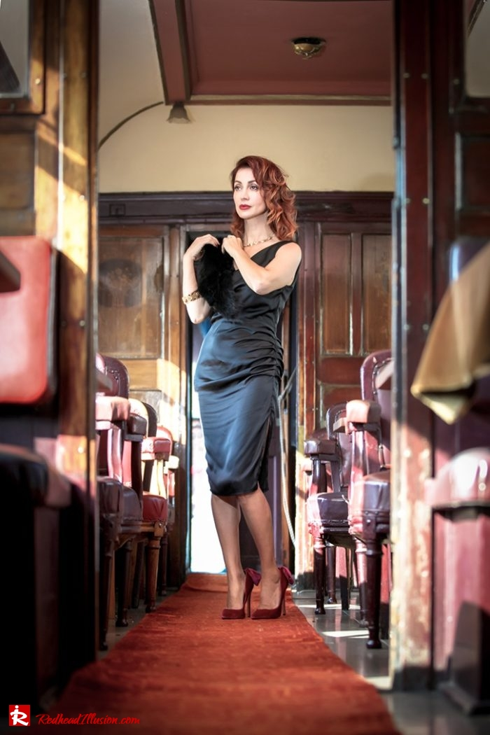 Redhead Illusion - Fashion Blog by Menia - Editorial - A sense from the past - Orient-Express - Missguided Pumps-07