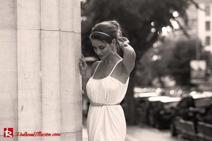 Redhead Illusion - Fashion Blog by Menia - Editorial - Grecian style - Dress-04
