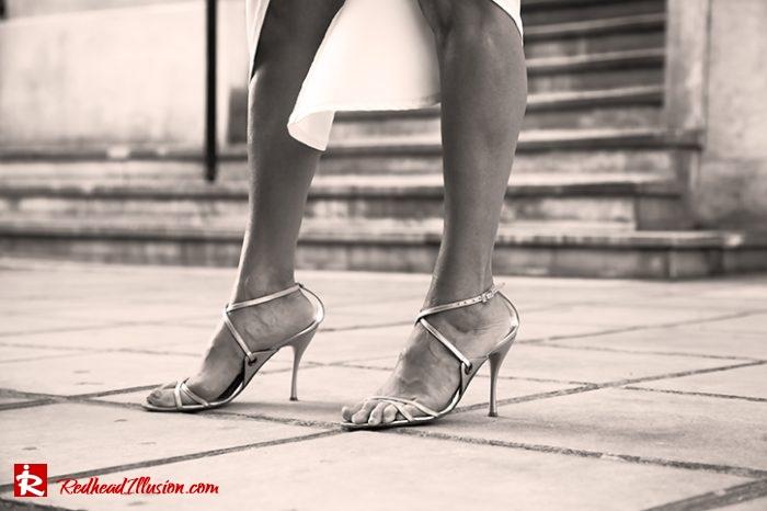 Redhead Illusion - Fashion Blog by Menia - Editorial - Grecian style - Dress-07