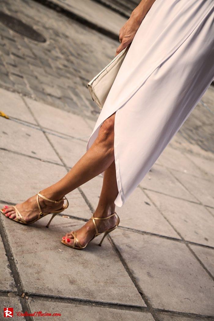 Redhead Illusion - Fashion Blog by Menia - Editorial - Grecian style - Dress-09