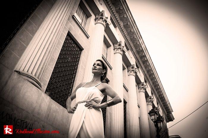 Redhead Illusion - Fashion Blog by Menia - Editorial - Grecian style - Dress-10