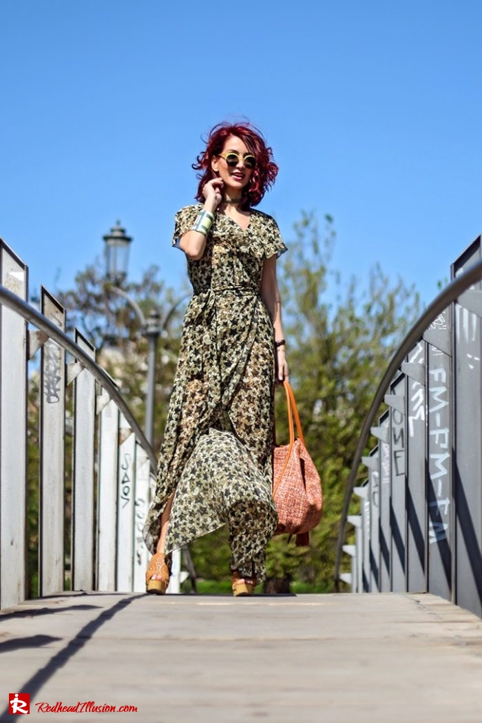 Redhead Illusion - Fashion Blog by Menia - Editorial - One for all - Denny Rose Dress-02
